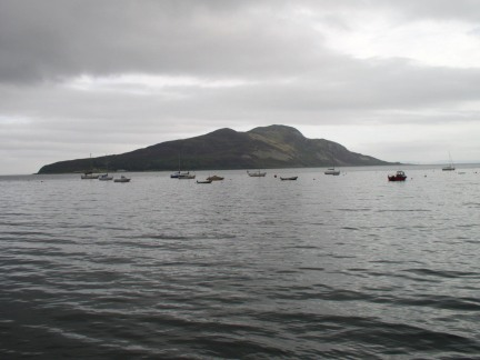 Holy Island from Lamlash
