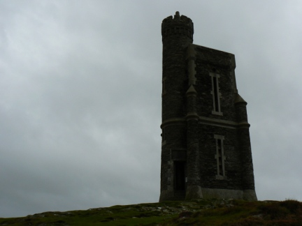The Milner Tower on Bradda Head