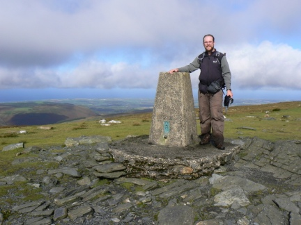 On the top of Snaefell