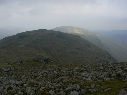 Allen Crags and the more distant Glaramara