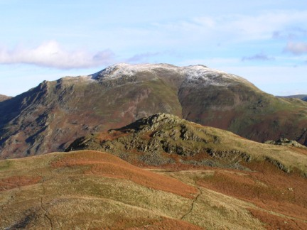 Looking back at Arnison Crag and Place Fell
