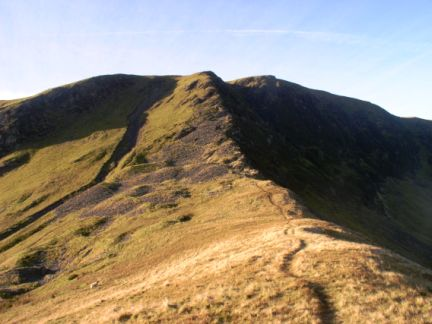 The east ridge of Bannerdale Crags