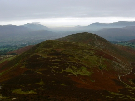 Barrow and Stile End from Outerside