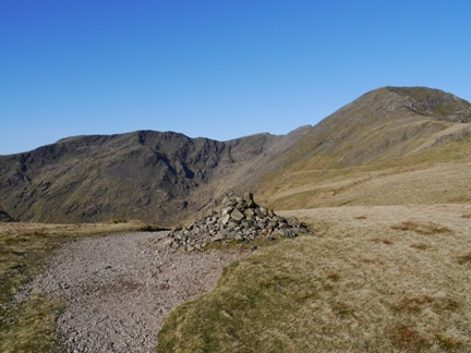 Red Pike and Pillar from the top of Black Sail Pass