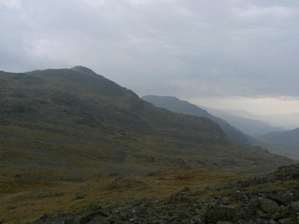 Bow Fell from Esk Pike