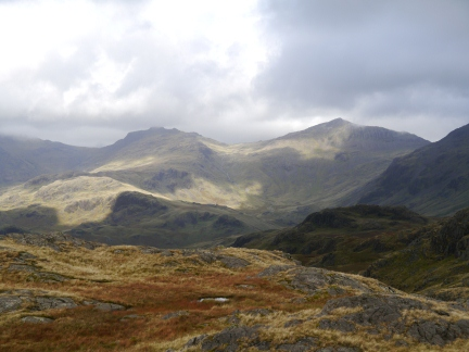 Esk Pike and Bowfell