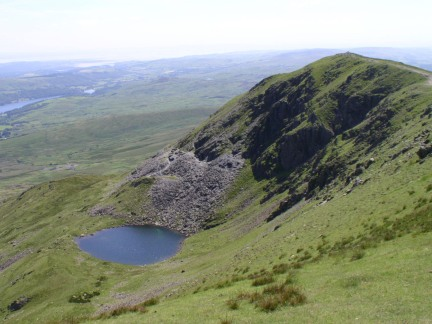 Brown Pike and Blind Tarn from Buck Pike