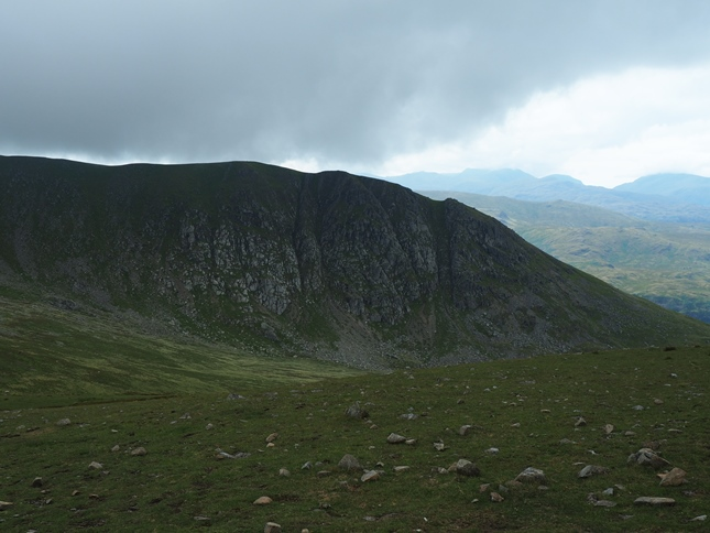 Looking back towards Browncove Crags