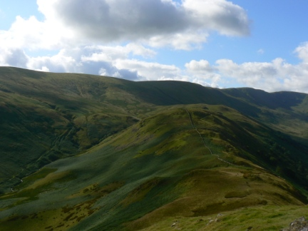 Brownthwaite Crag and Wether Hill