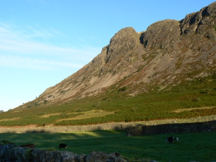 The dramatic profile of Buckbarrow