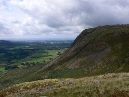 Buckbarrow from the descent of Middle Fell