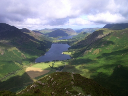 Buttermere Valley from Fleetwith Pike