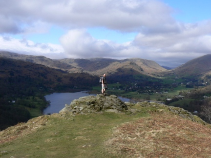 By the site of the Grasmere Cairn