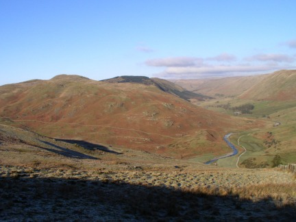Castle Fell and Borrowdale