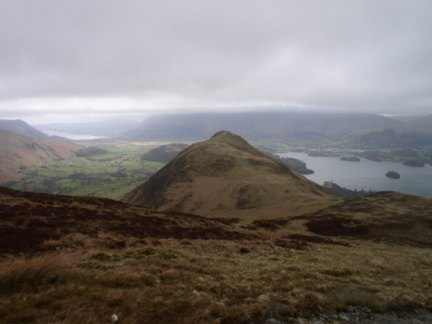 Cat Bells from Maiden Moor
