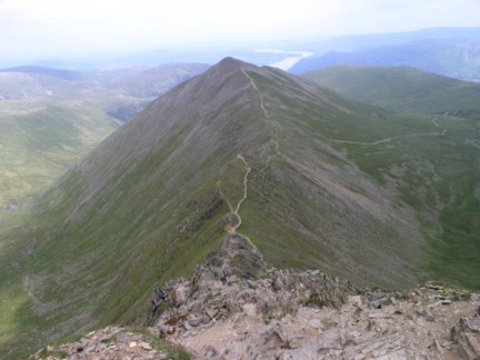 Catstye Cam from the top of Swirral Edge