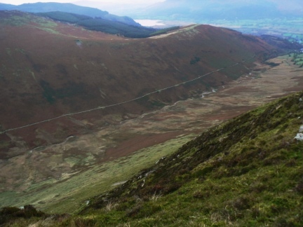 Coledale from the top of Outerside