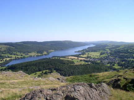 Coniston Water from Yewdale Crag