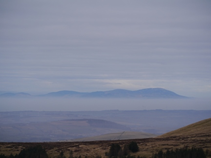 Looking across the Solway Firth towards Criffel