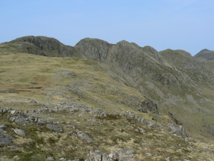 Crinkle Crags from Great Knott