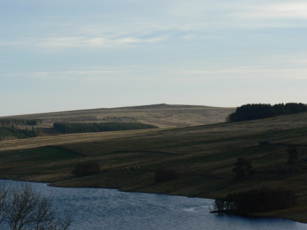 Looking across Wet Sleddale Reservoir to Crosby Ravensworth Fell