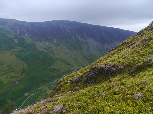Looking across Gatesgarthdale to Dale Head