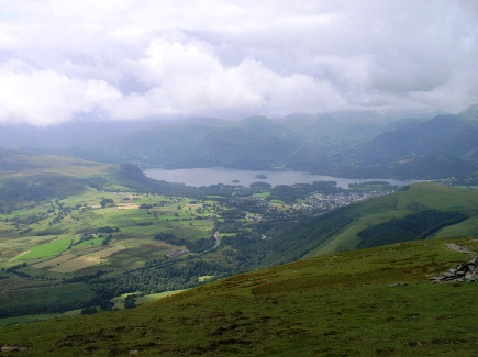 Derwent Water from Blease Fell
