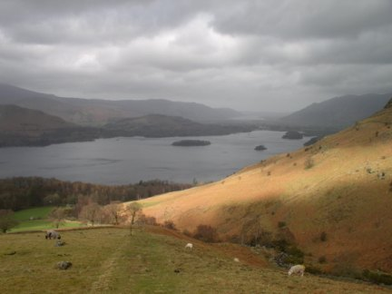 Derwent Water from above Ashness Gill