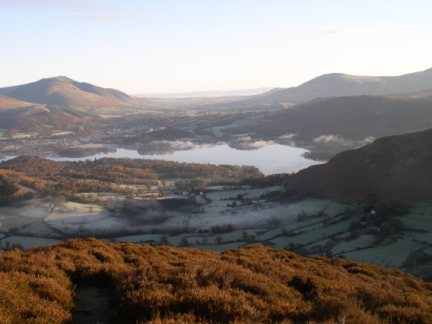 Derwent Water from Rowling End