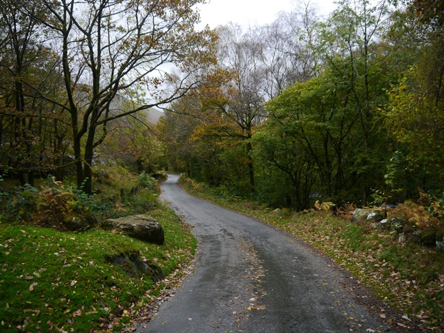 The quiet road back to Seathwaite