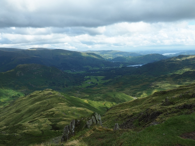 Easedale from the top of Tarn Crag