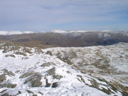 The Eastern Fells from Pavey Ark