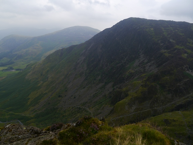 Fleetwith Pike from Green Crag