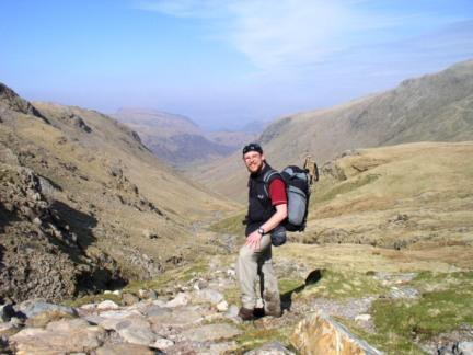 At the top of Grains Gill