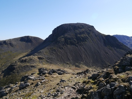 Great Gable from the top of Rib End