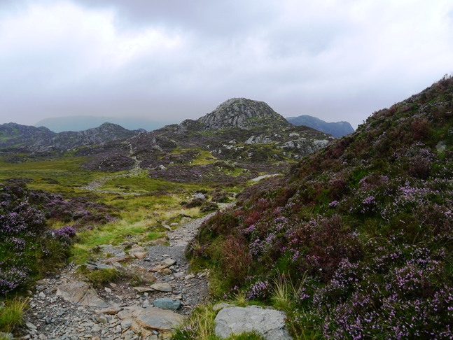 Approaching Green Crag