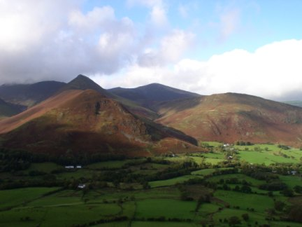 Causey Pike and Grisedale Pike