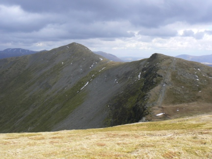Grisedale Pike and Hobcarton Crag