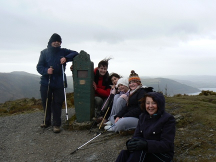 Group shot on the top of The Dodd