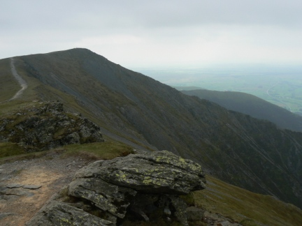 Hall's Fell Top the summit of Blencathra