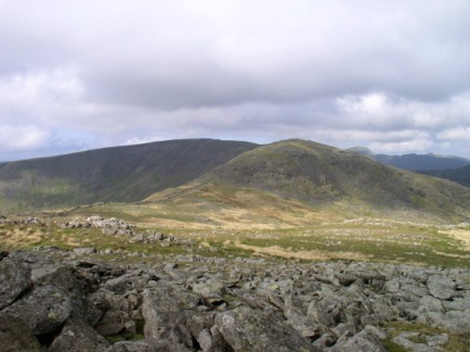 Hart Crag and Fairfield from Dove Crag