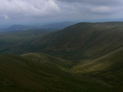 Hart Side and Deepdale from Stybarrow Dodd