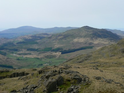 Harter Fell and the Duddon Valley
