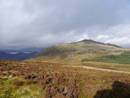 Looking back at Harter Fell