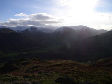 The fells above Hartsop