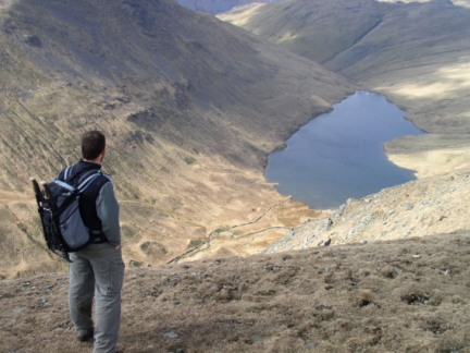 Looking down to Hayeswater