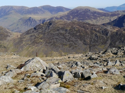 Haystacks from Kirk Fell