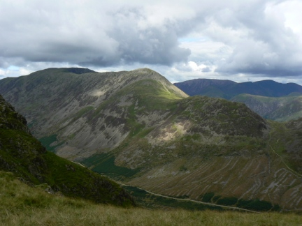 Looking across Ennerdale to High Crag and Seat