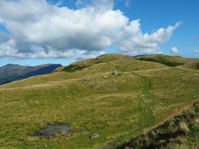 Approaching the top of High Rigg