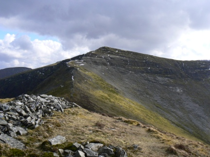 Hopegill Head from Ladyside Pike